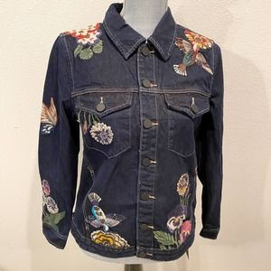 Blank NYC Culture Vulture Floral Jacket